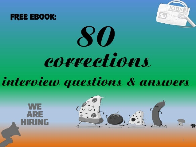 80 corrections interview questions with answers 80 1 corrections interview questions answers free ebook fandeluxe Image collections