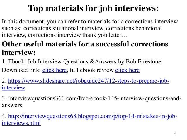 80 corrections interview questions with answers top materials fandeluxe Image collections