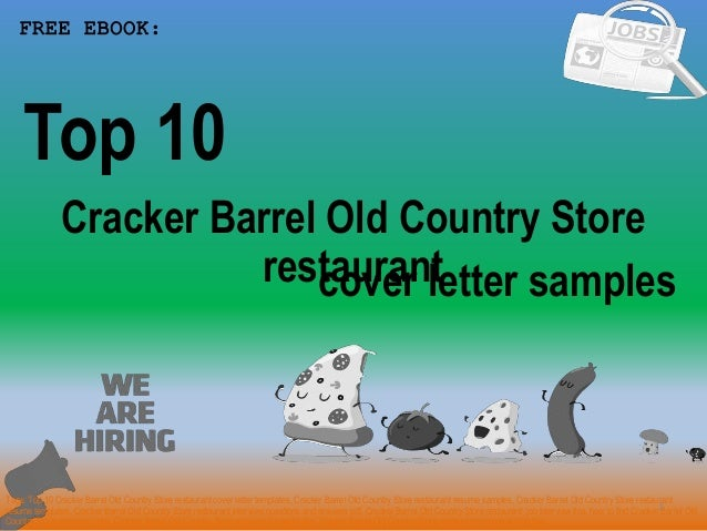 Top 10 cracker barrel old country store restaurant cover ...
