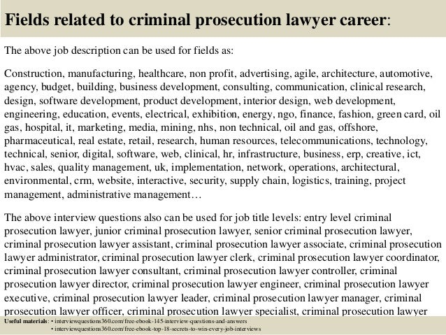 Assistant Prosecutor Cover Letter |