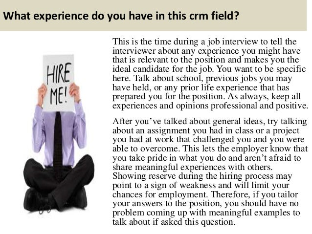 Top 10 crm interview questions and answers Slide 2