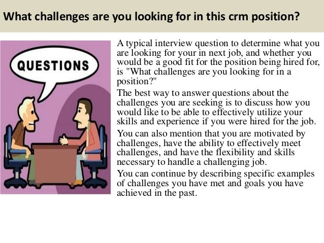 Top 10 crm interview questions and answers Slide 3