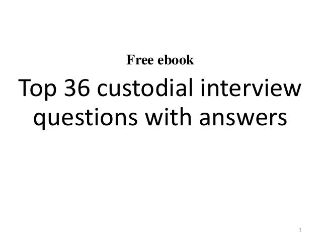 Study guide for sheriffs technician ebook array top 36 custodial interview questions with answers pdf rh slideshare net free ebook fandeluxe Images