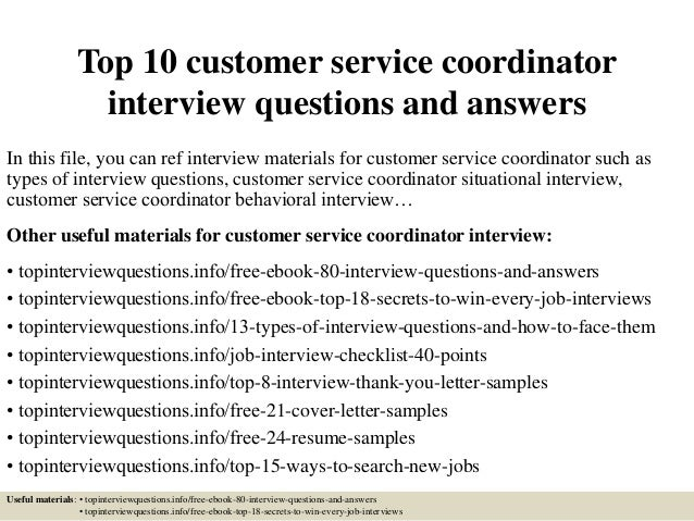 interview behavioral questions and answers