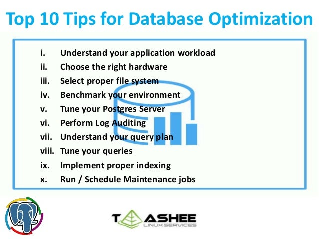 Top 10 Database Optimization Tips
