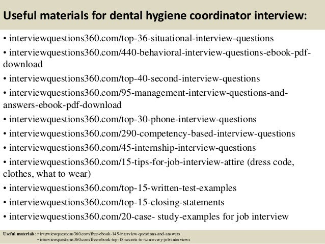 what to wear for dental hygiene interview