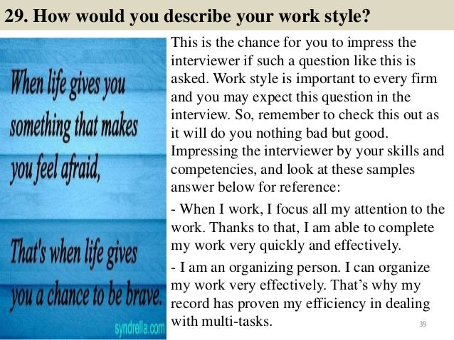 39 29 - Interviewee Questions To Ask On A Job Interview