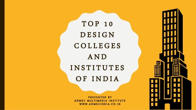 Awe Inspiring Top 10 Design Colleges And Institutes Of India Download Free Architecture Designs Xerocsunscenecom