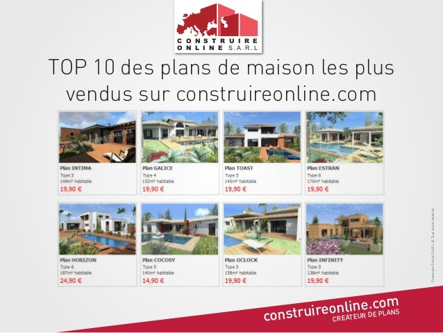 Top 10 des plans de maison les plus achet es for Comment obtenir vos plans de maison