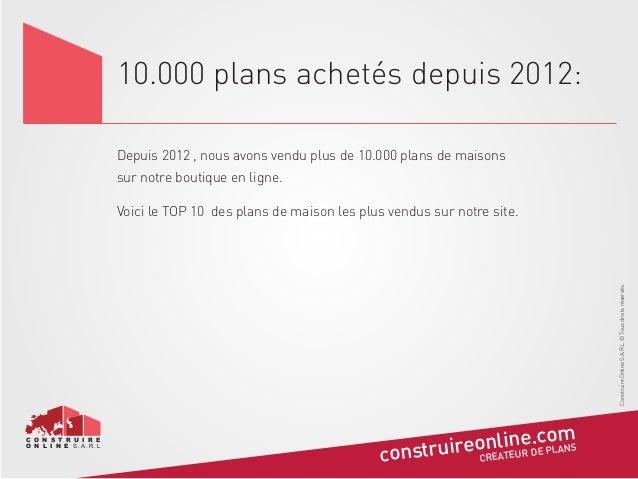 Top 10 Des Plans De Maison Les Plus Achetees
