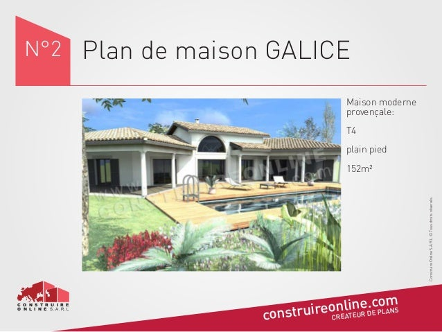 plan maison galice