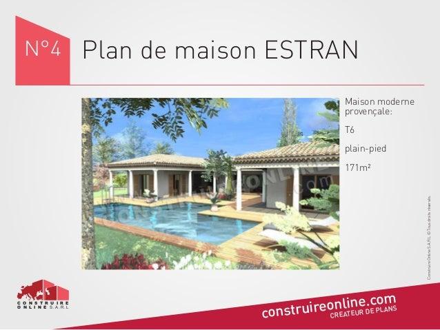 Plan maison provencale excellent plan de maison plain - Plan de maison provencale ...