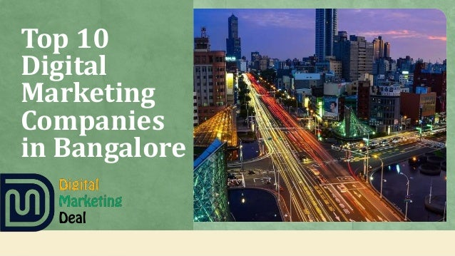 Top 10 Digital Marketing Companies in Bangalore