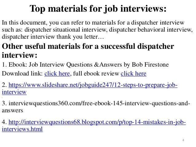 Lovely ... Dispatcher Interview; 4.  911 Dispatcher Interview Questions