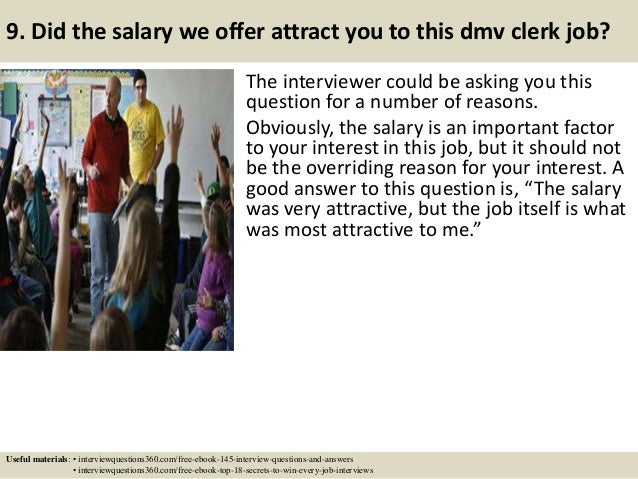 Top 10 Dmv Clerk Interview Questions And Answers