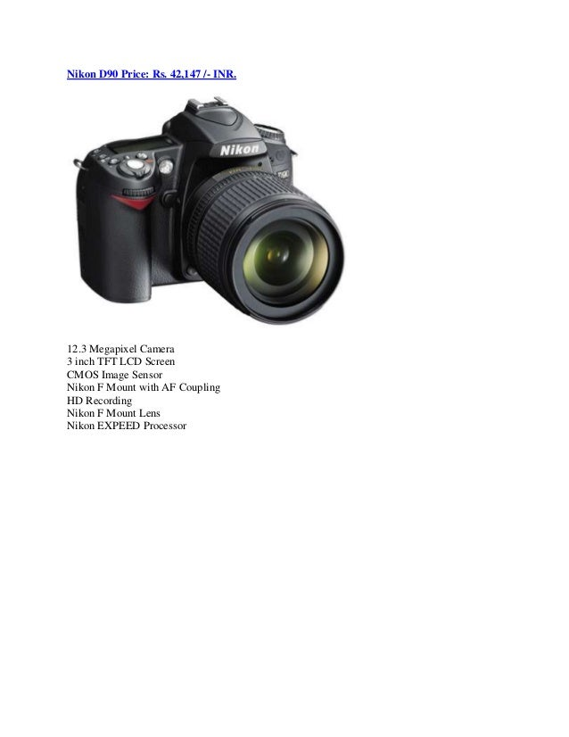 Top 10 Dslr Camera List Price In India