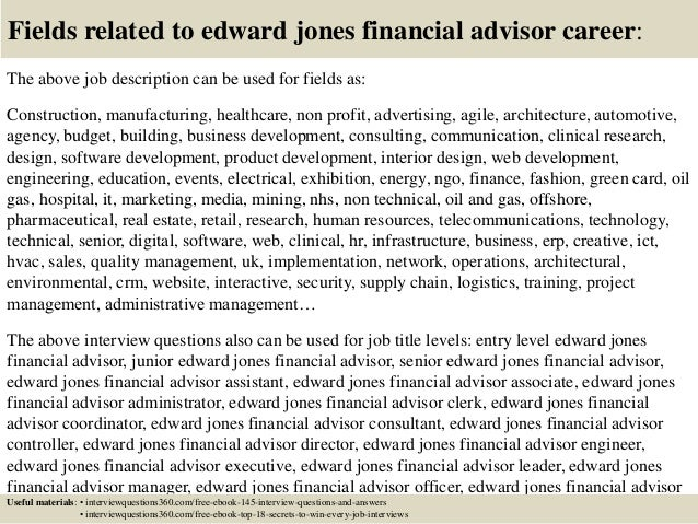 edward jones financial advisor salary