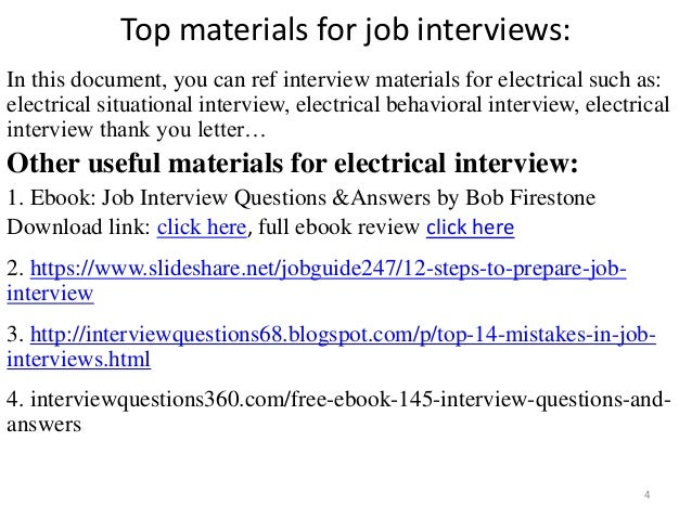 top 36 electrical interview questions with answers pdf rh slideshare net Wiring- Diagram Electrical Wiring Help