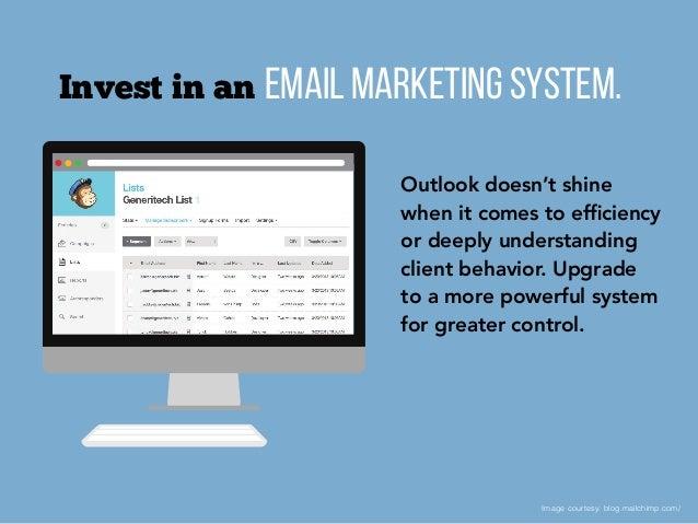 Top 10 Email Tips for Financial Advisors Slide 2