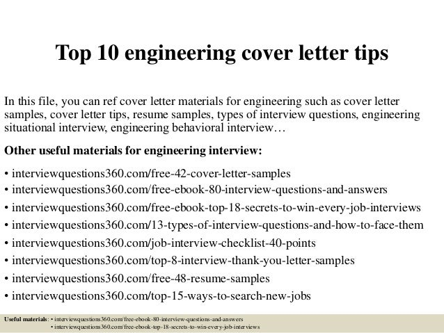 top 10 engineering cover letter tips 1 638jpgcb1430704562. Resume Example. Resume CV Cover Letter
