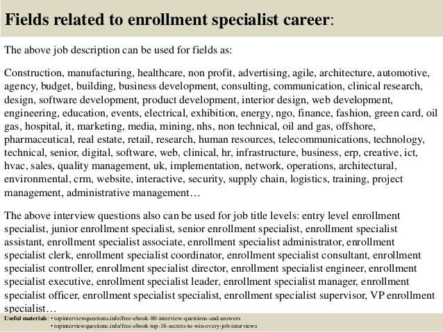 enrollment specialist - Elita.mydearest.co