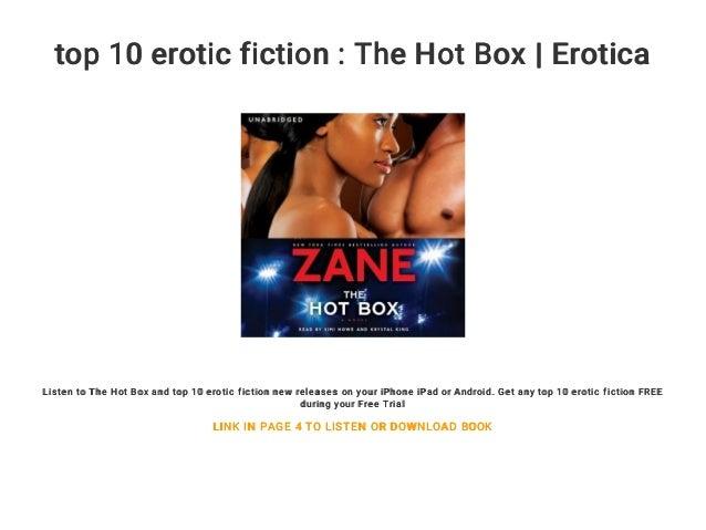 Serious erotic fiction literary
