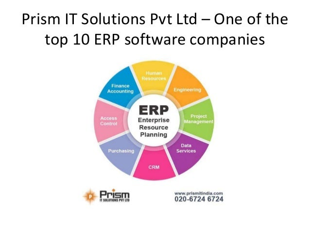 Prism It Solutions One Of The Top 10 Erp Software