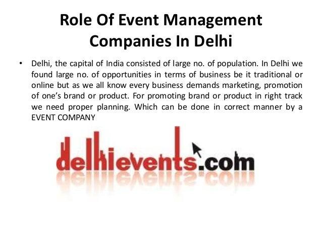 Top 10 Event Management Companies In Delhi Slide 2