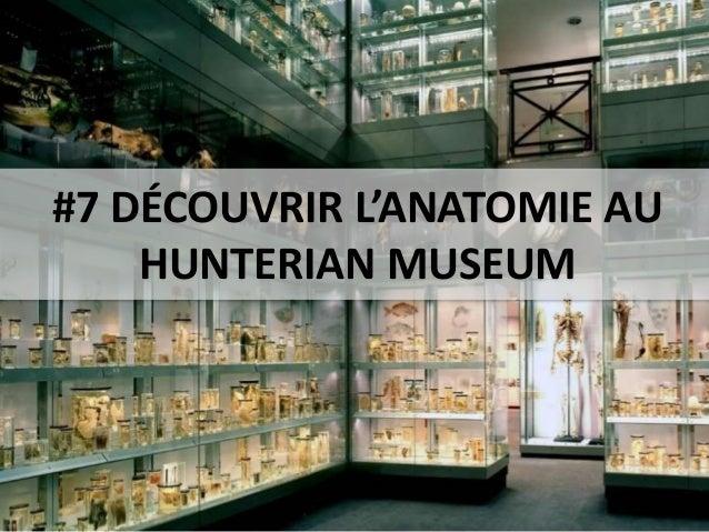 #7 DÉCOUVRIR L'ANATOMIE AU HUNTERIAN MUSEUM