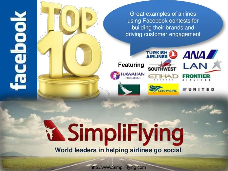 Top 10 Facebook Contests by Airlines