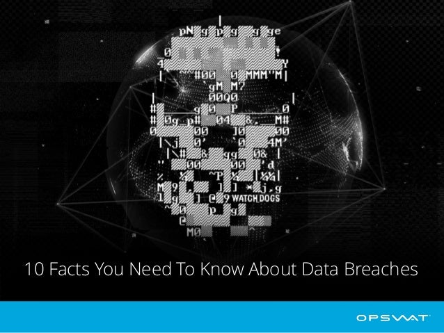 10 Facts You Need To Know About Data Breaches