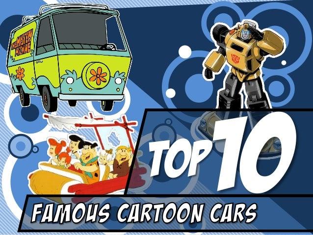 Top 10 Famous Cartoon Cars