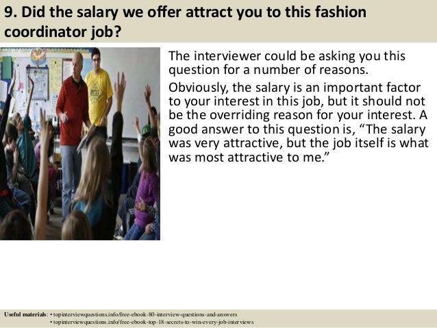 fashion coordinator
