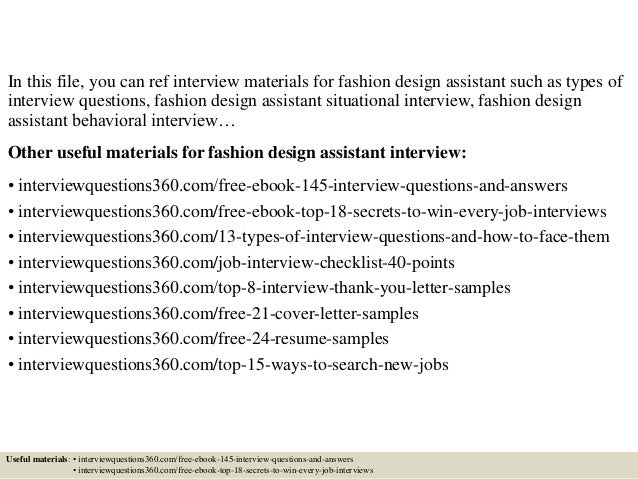 Fashion designer job search 58