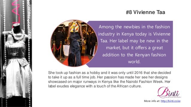 Top 10 Fashion Designers in Kenya you need to Follow