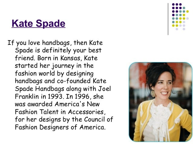 Kate Spade Famous Handbag Designer The Art Of Mike Mignola