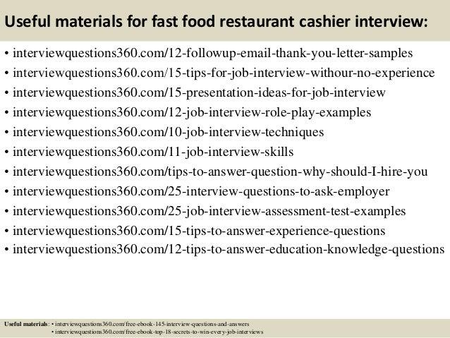market research fast food restaurants