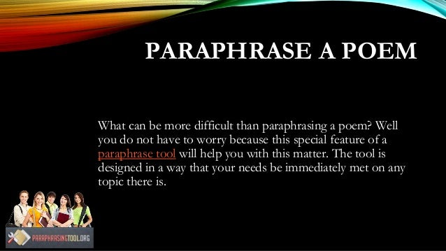 How Our Paraphrase Tool Works