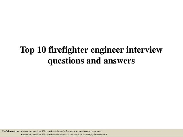 fire and safety officer interview questions and answers pdf