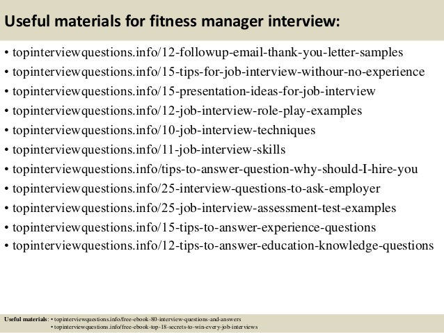 gym manager jobs resumes