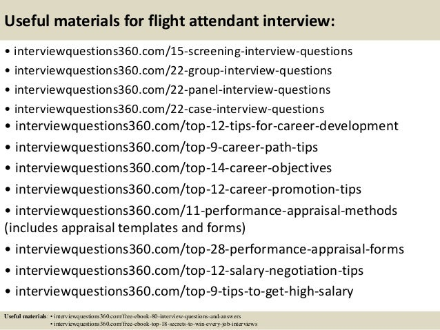 Top  Flight Attendant Cover Letter Tips