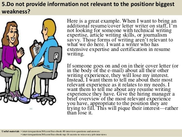 6 5 - Do You Need A Cover Letter For An Interview