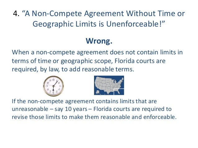 Top 10 Florida Non-Compete Mistakes & Misperceptions