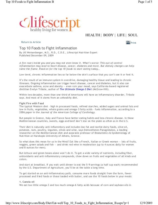 Return to Article By Jill Weisenberger, M.S., R.D., C.D.E., Lifescript Nutrition Expert Published December 09, 2009 A fire...