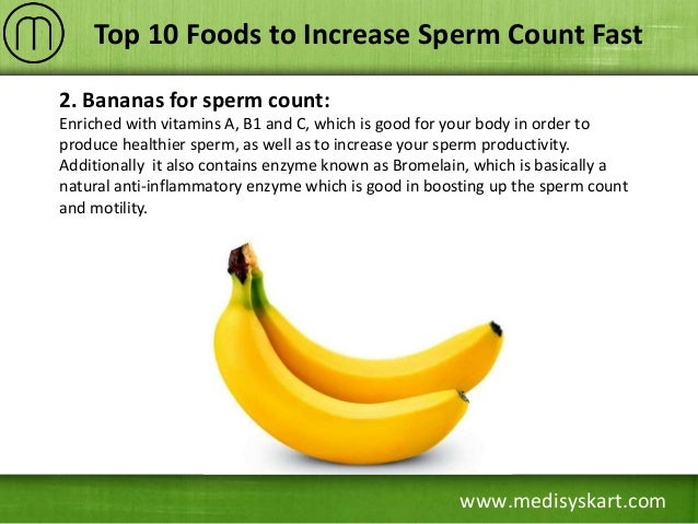 Increasing production sperm