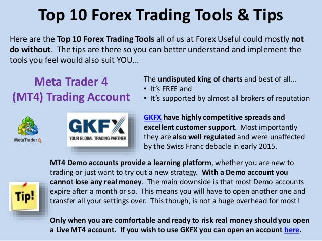 Top 10 forex trading tips