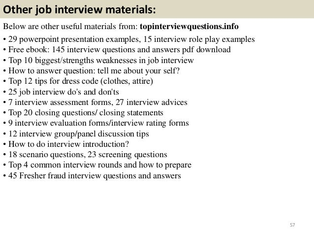 top 36 fraud interview questions with answers pdf