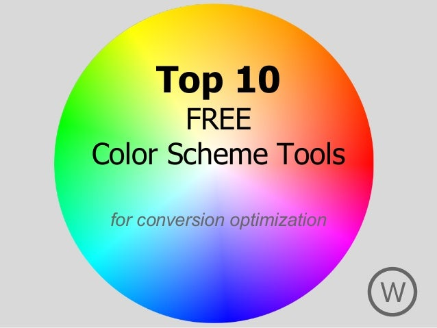 Top 10 Free Color Scheme Tools for Conversion Optimization