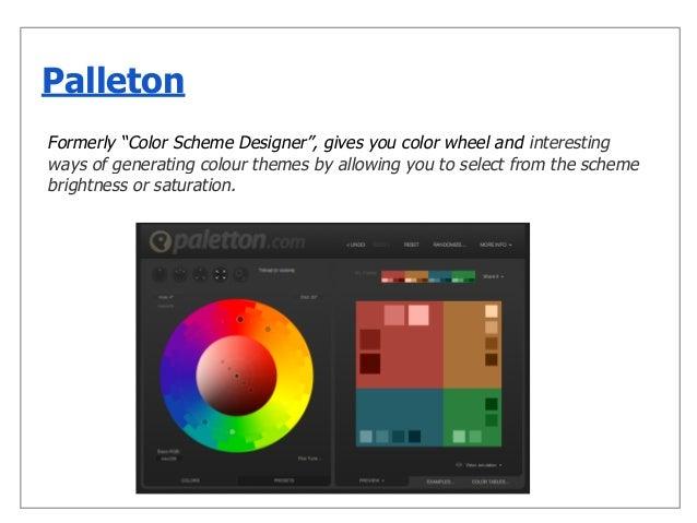 Color Explorer; 9. Formerly U201cColor Scheme Designeru201d ...
