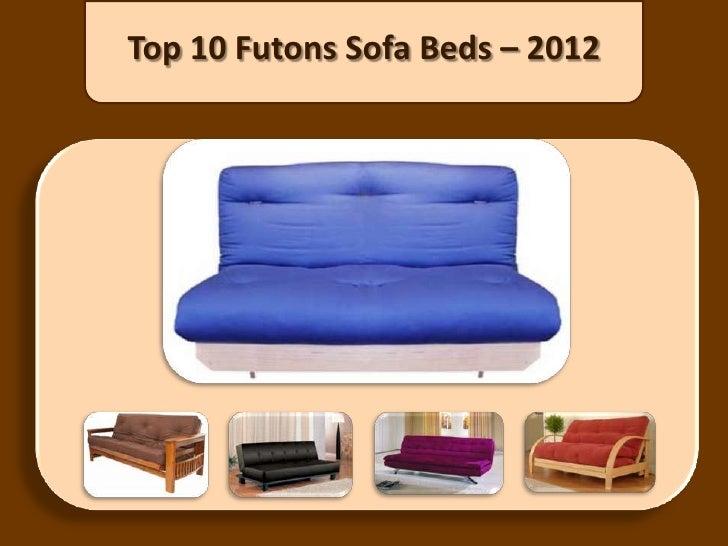 Top 10 Futons Sofa Beds – 2012
